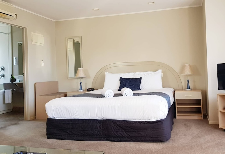 Brougham Heights Motel, New Plymouth, Studio, Chambre