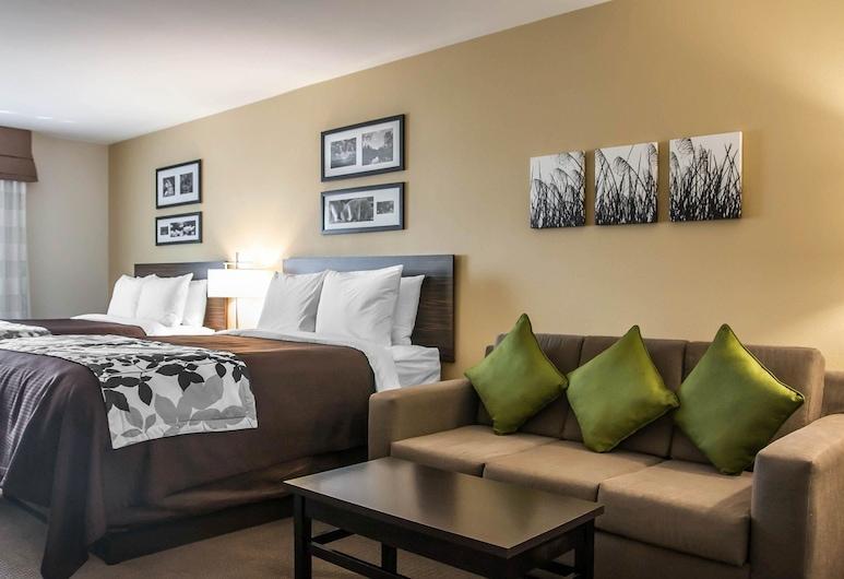 Sleep Inn & Suites Devils Lake, Devils Lake, Δωμάτιο επισκεπτών