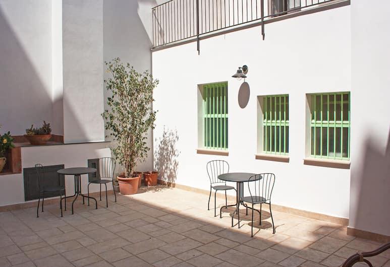 City-in-hostel-B&B, Catania, Terrazza/Patio