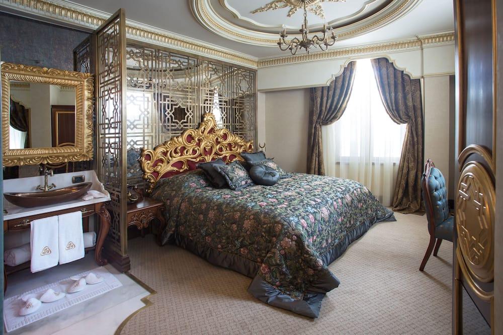 Grand Deluxe Room with Golden Horn View - Dnevni boravak
