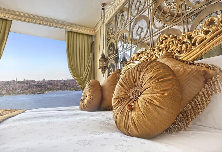 達魯蘇丹加拉塔酒店, 伊斯坦堡, Deluxe Room Golden Horn View, 客房