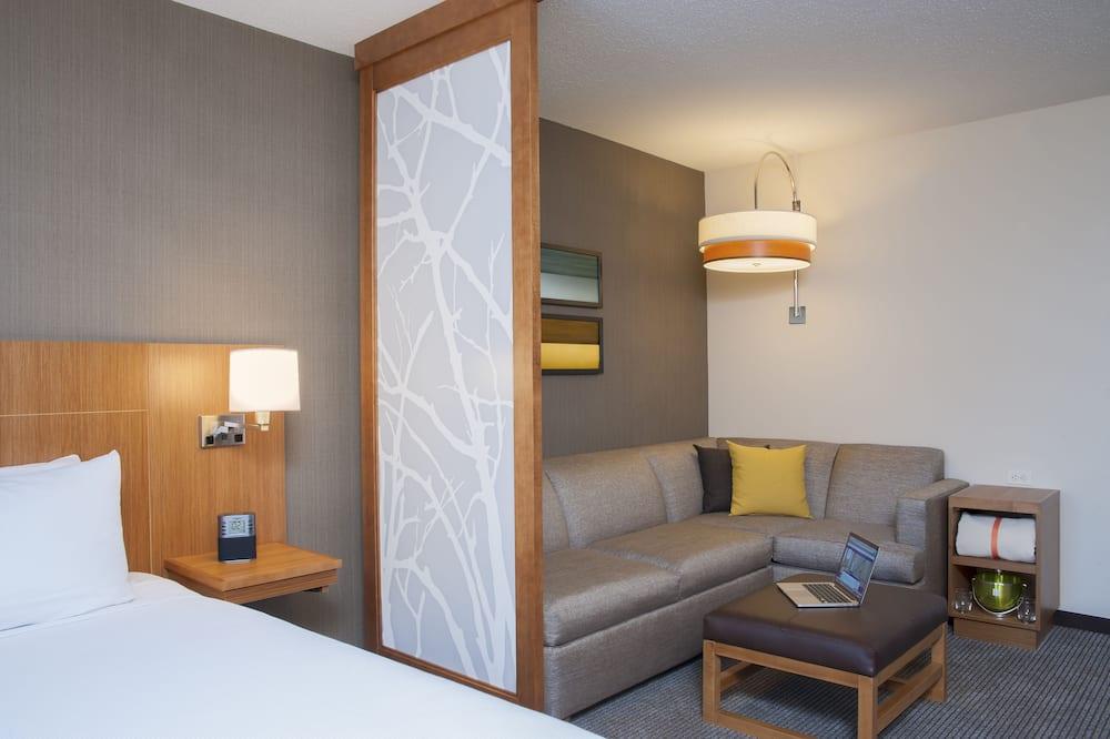 Guest Room, Zimmer, 1King-Bett - Wohnbereich