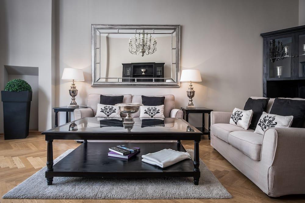 דירה דה-לוקס, 3 חדרי שינה - אזור מגורים