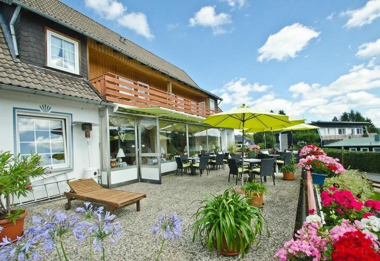 Hotel Waldrausch, Goslar, Terrace/Patio