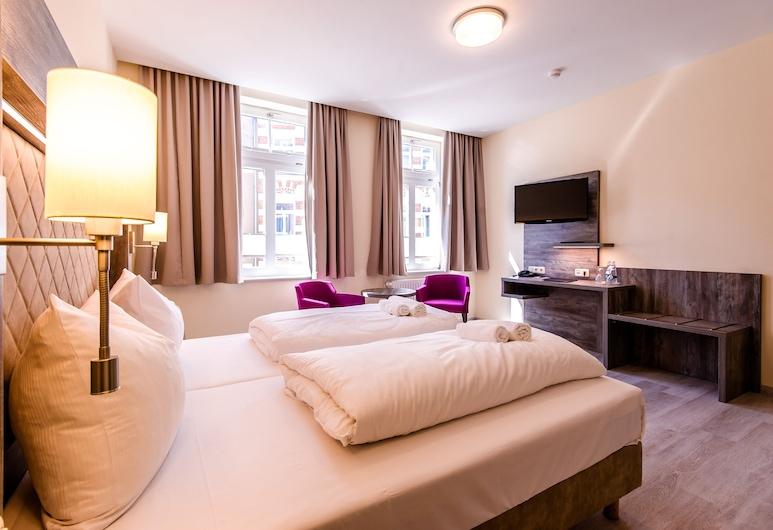 Hotel Am Alten Hafen, Wismar, dvivietis kambarys, Svetainės zona