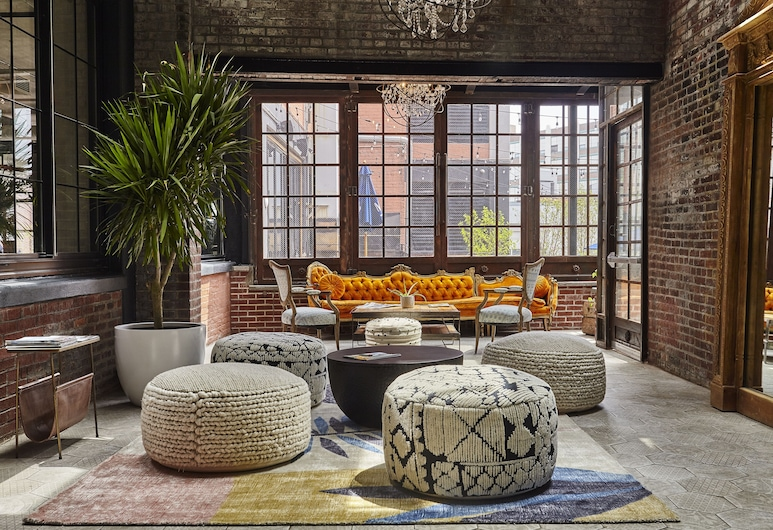 The Collective Paper Factory, Long Island City, Lobby Sitting Area