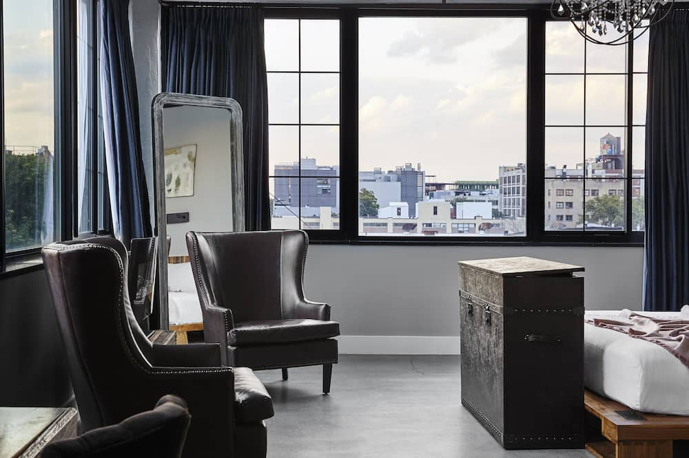 Manhattan Loft - Wohnbereich