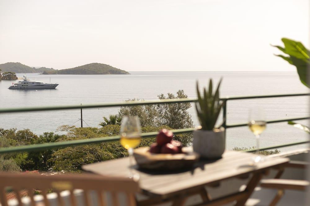 Luksusa numurs, skats uz jūru (Loft) - Terase/iekšējais pagalms