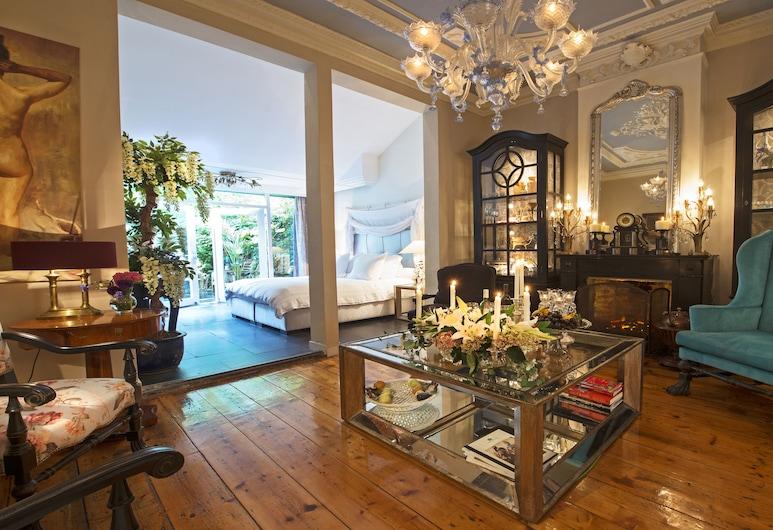 Breitner House, Amsterdam, Suite (Isaac Israel), Opholdsområde