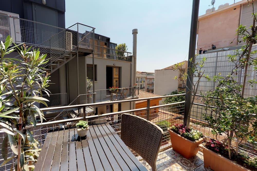 Apartment, 2 Bathroom, 2 Bedroom, with Elevator - 露台