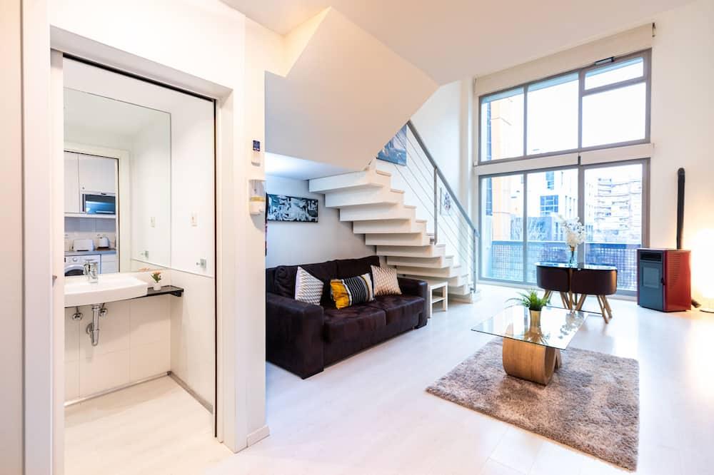 Design apartman, 1 hálószobával - Nappali rész