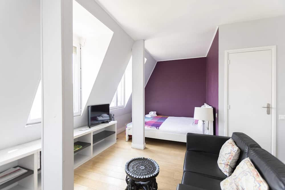 Basic-Apartment, 1 Queen-Bett - Zimmer