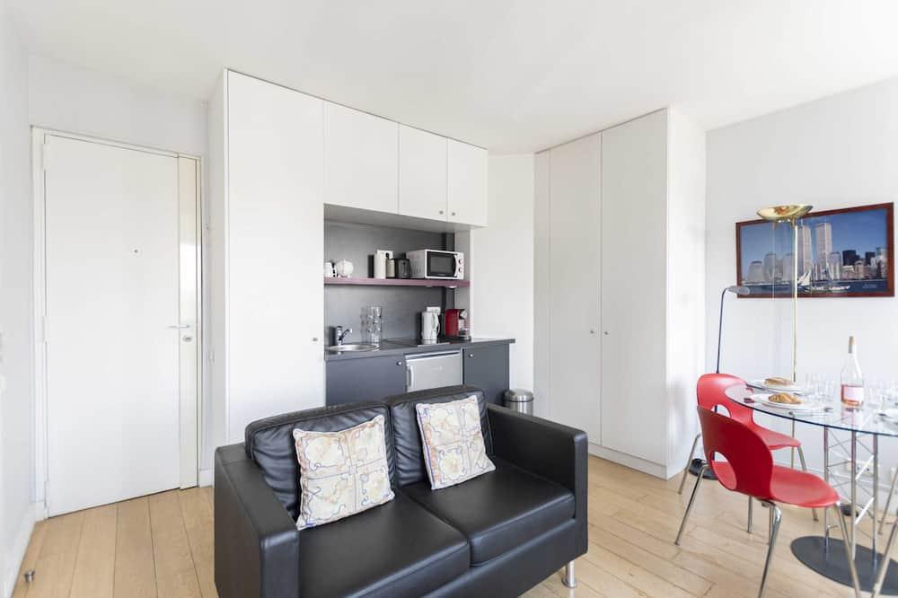 Basic-Apartment, 1 Queen-Bett - Wohnzimmer