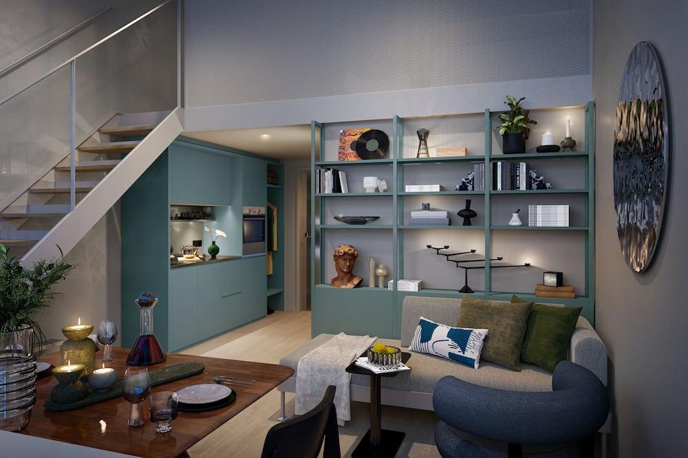 Atelier Loft Apartment - Vardagsrum