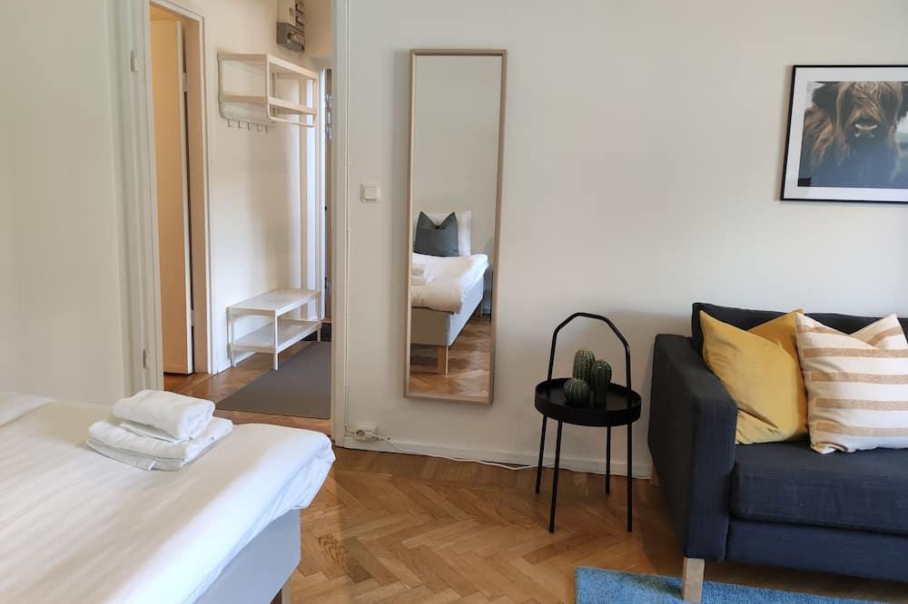 Eenvoudig appartement, 1 tweepersoonsbed - Woonruimte