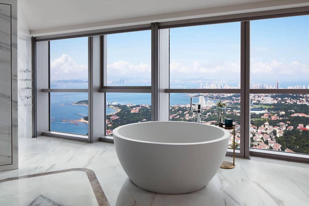 Quarto Nobre, 1 cama king-size, Não-fumadores, Vista Cidade (Grand Deluxe) - Casa de banho