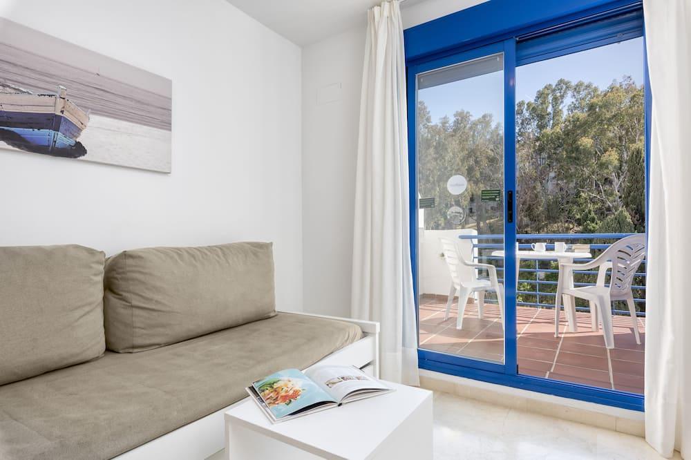 Penthouse Deluxe, 1 chambre - Salle de séjour