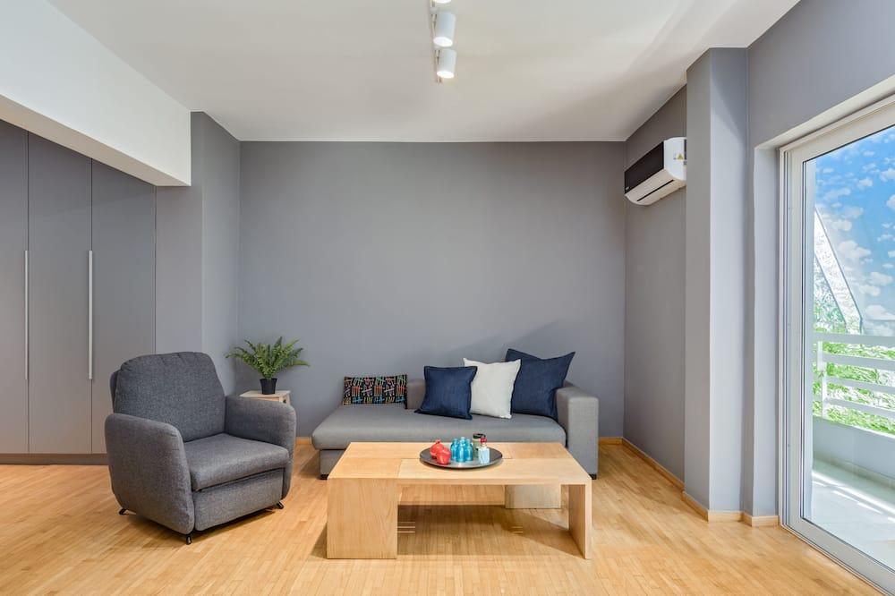 Apartmán typu City, 1 spálňa, balkón - Obývacie priestory