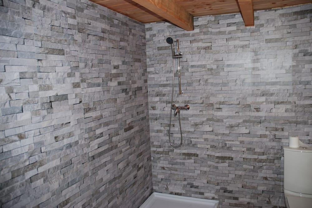 Exclusive-træhus - eget badeværelse - Badeværelse