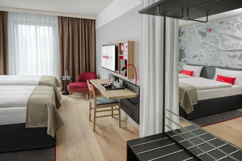 Camera Superior con 2 letti singoli - Area soggiorno
