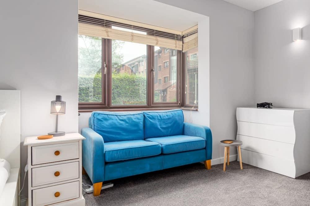 Basic-Studio, 1 Doppelbett - Wohnzimmer