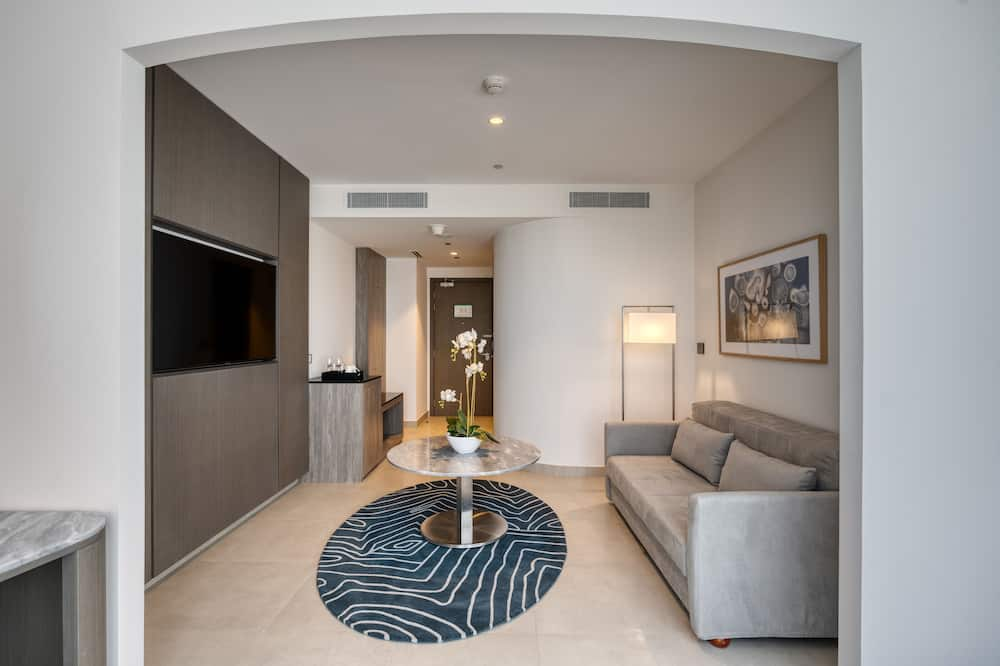 TFC Horizon Suite with Private Beach Access - Dnevni boravak