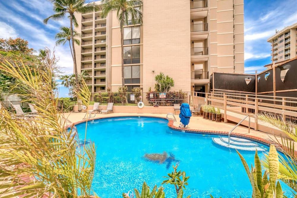 Appartement, 1 slaapkamer, uitzicht op zee - Zwembad
