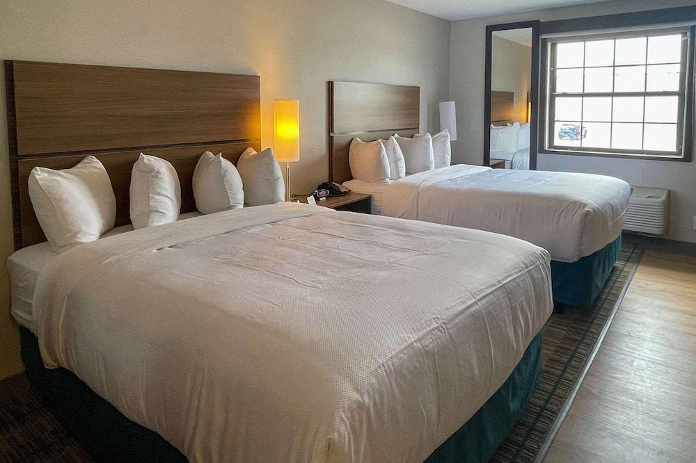 Люкс, 2 двуспальные кровати «Квин-сайз», для некурящих (Efficiency) - Номер