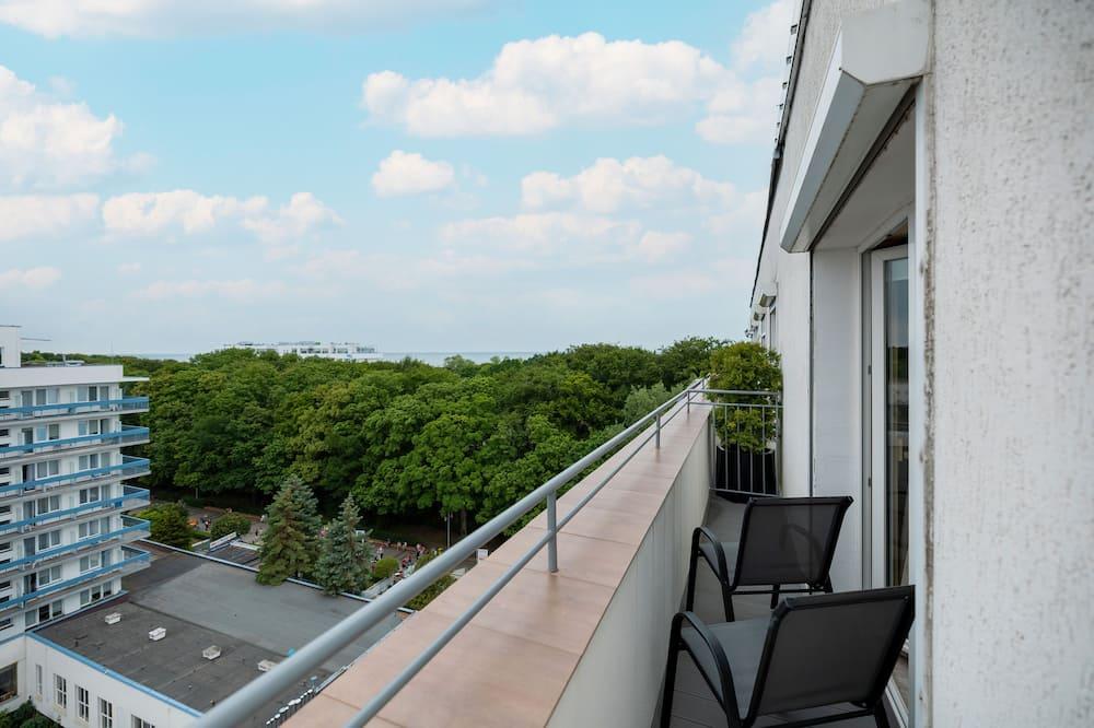 Departamento, 1 habitación, balcón, vista al mar - Balcón