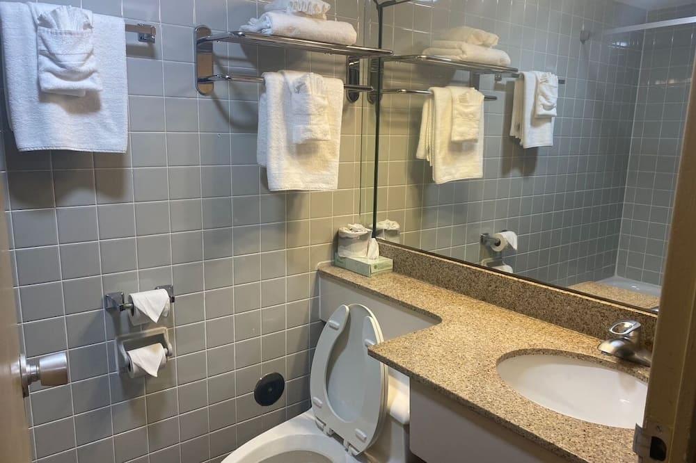 Izba, 2 veľké dvojlôžka, nefajčiarska izba (Efficiency) - Kúpeľňa