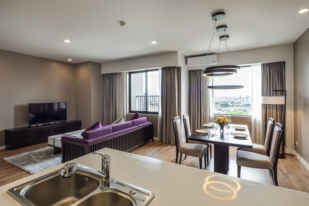 Apartamento Executivo - Área de Estar