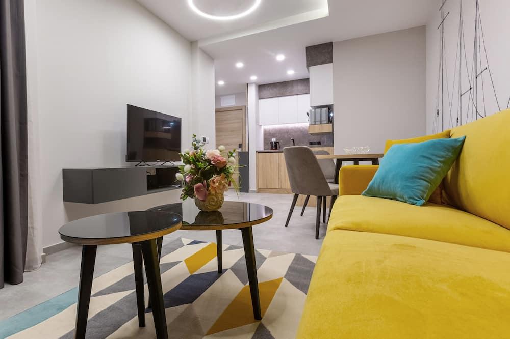 Standard Apartment - Ruang Tamu
