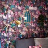 apartman, 1 queen (nagyméretű) franciaágy és egy kihúzható kanapé - Szoba