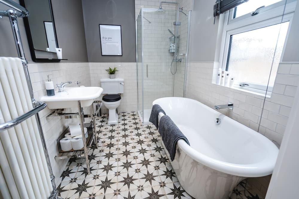 Deluxe-hus - privat badeværelse - Badeværelse