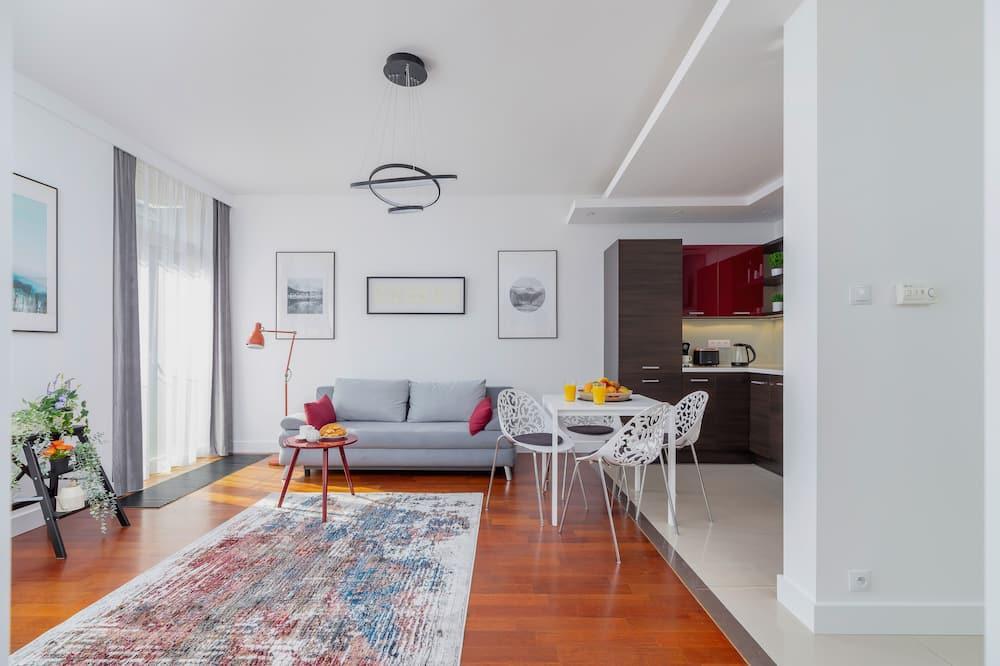 Apartment, 1 Schlafzimmer, Küche - Wohnzimmer