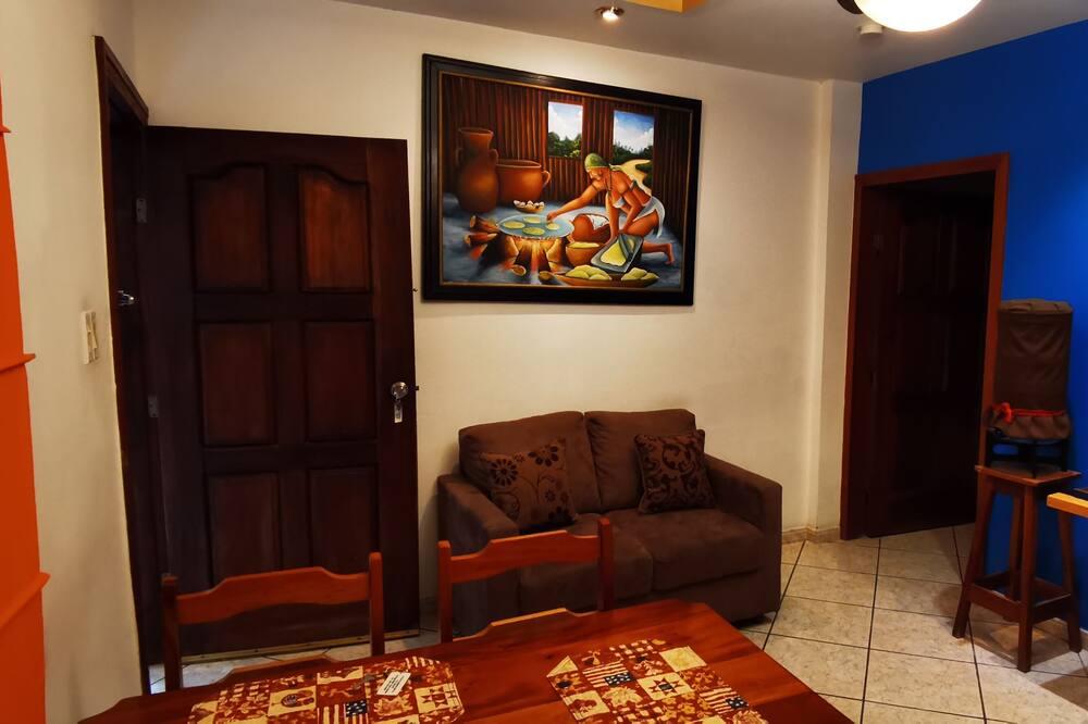 סוויטת סטודיו דה-לוקס - אזור מגורים