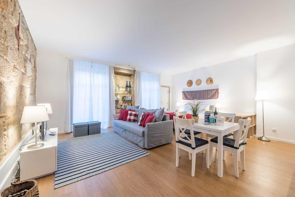 Estudio básico, 1 cama doble con sofá cama - Sala de estar