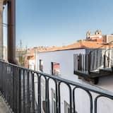 Basic-Studio, 1Queen-Bett und Schlafsofa - Balkon