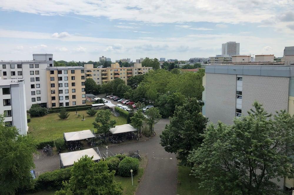 Apartment in Mainz - Wohn-Schlafzimmer mit Kochnische und Bad