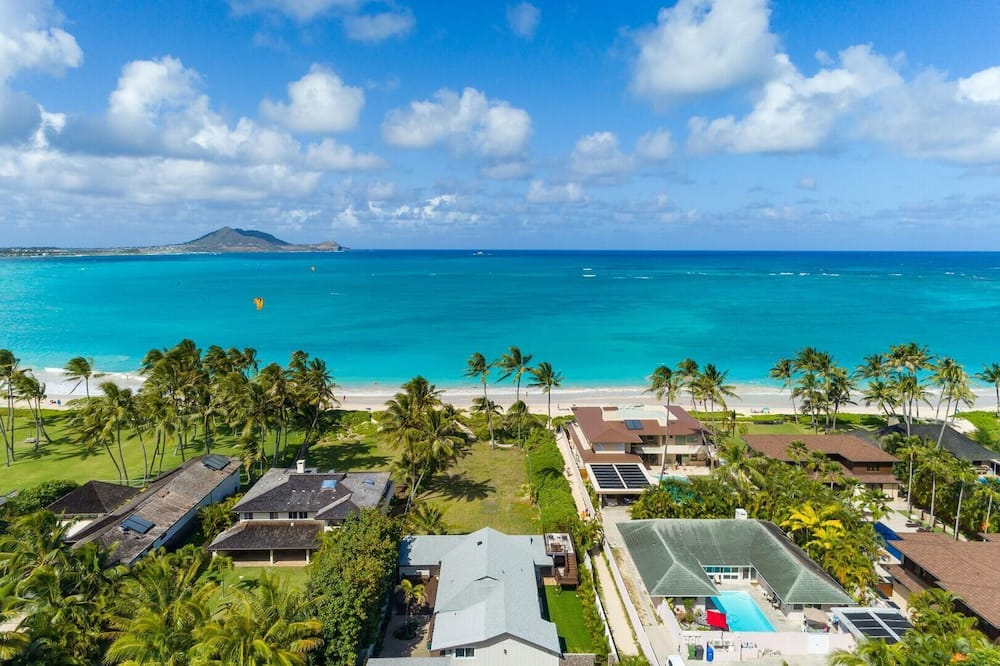 House, Multiple Beds (Hale Oahu Cottage - Beachfront Estate) - Beach