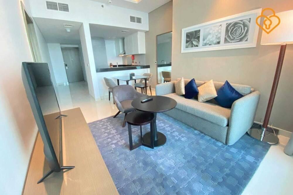Dzīvokļnumurs, viena guļamistaba (Unit 3202) - Dzīvojamā zona