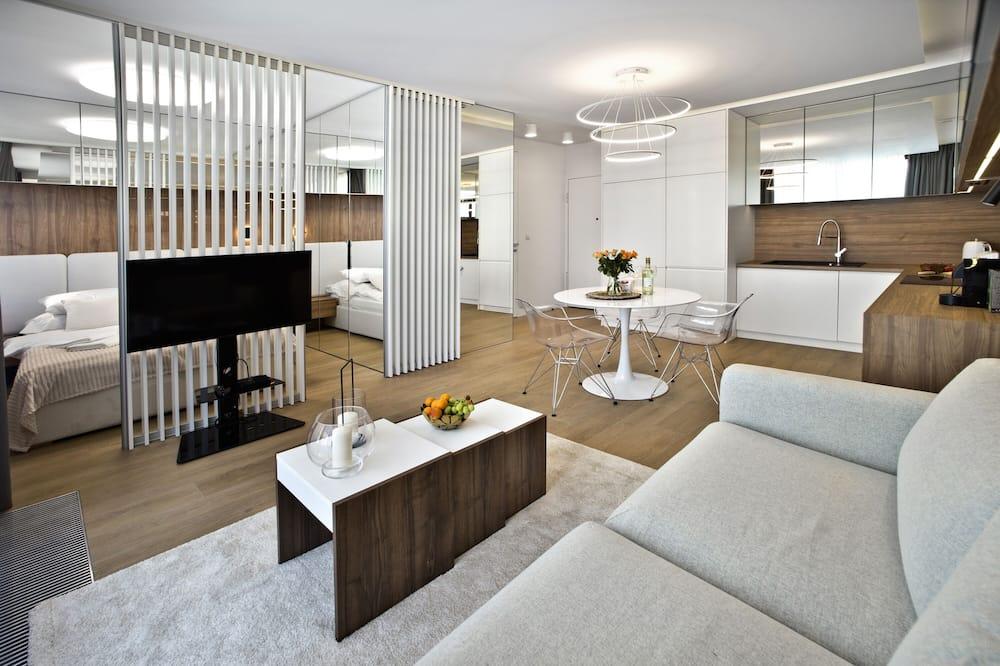 Deluxe Διαμέρισμα - Καθιστικό