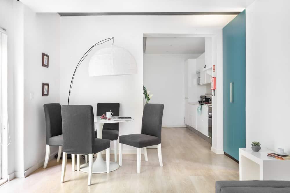 Design-lejlighed - 1 soveværelse - Opholdsområde