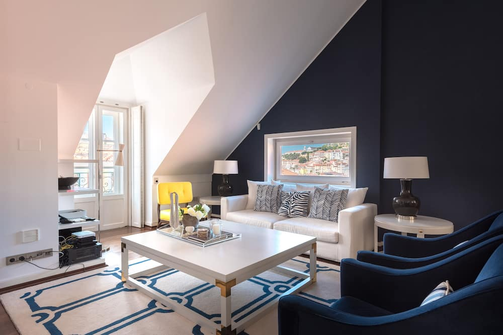 Dizaina dzīvokļnumurs, trīs guļamistabas - Dzīvojamā zona