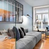 Apartemen Desain, 2 kamar tidur - Foto Unggulan