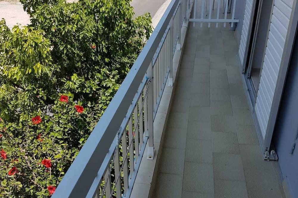 Appartement, 2 eenpersoonsbedden - Balkon