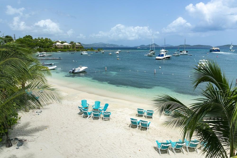 Pokój luksusowy, Łóżko king, widok na ocean - Z widokiem na plażę/ocean