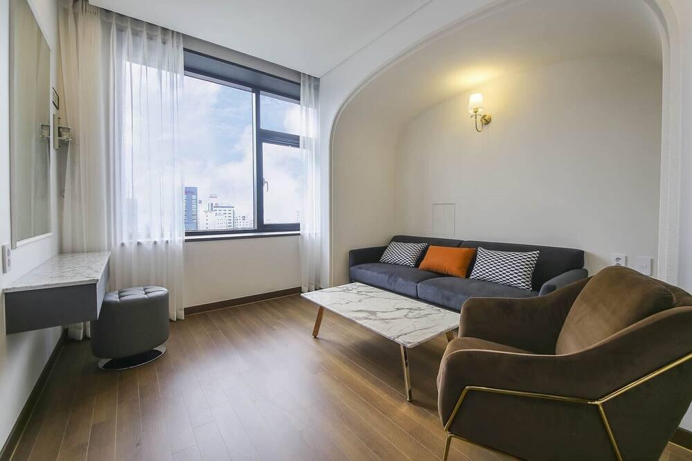 Premium-Studiosuite - Wohnbereich