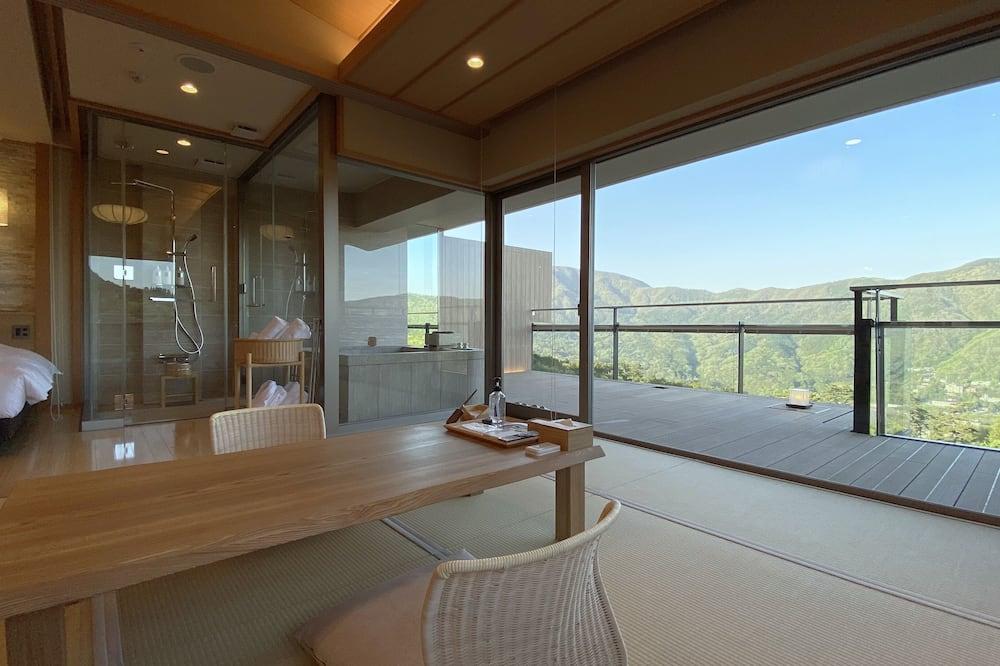 祥(Syo)- 大文字側・露天風呂付コーナー和洋室(69m2)禁煙 - バルコニーからの眺望