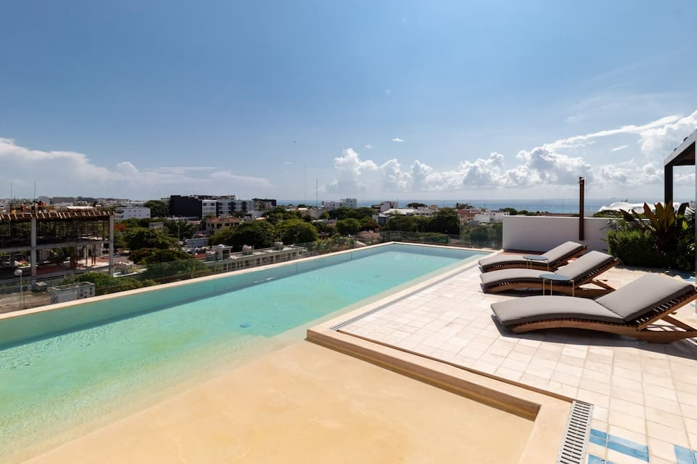 Soukromý byt, 1 ložnice - Bazén